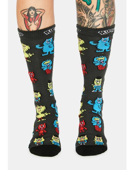 Nerm Street High Socks