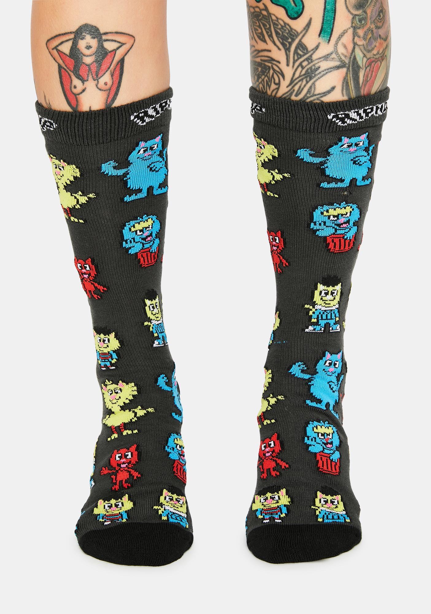RIPNDIP Nerm Street High Socks
