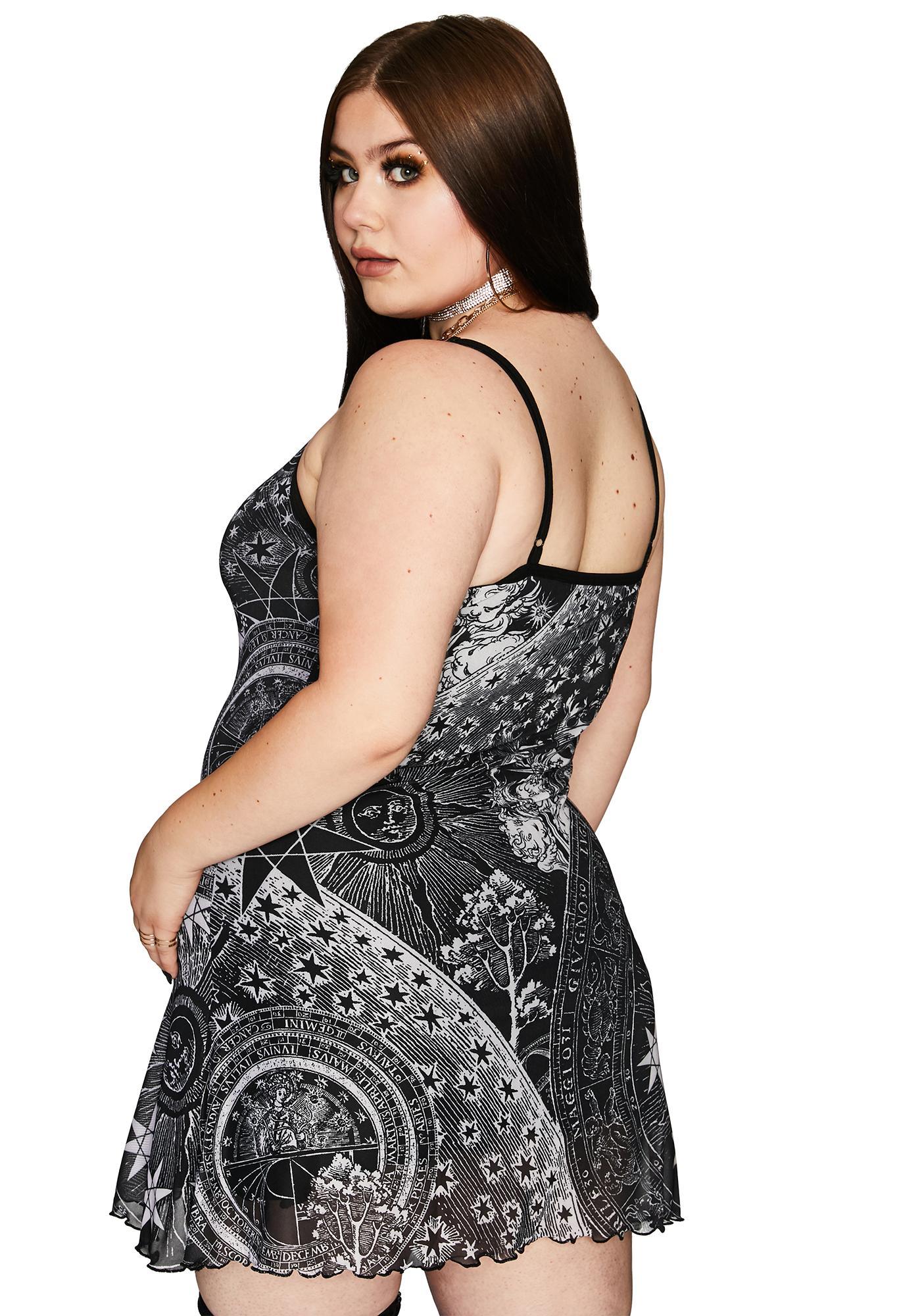 HOROSCOPEZ She's On The Rise Mini Dress