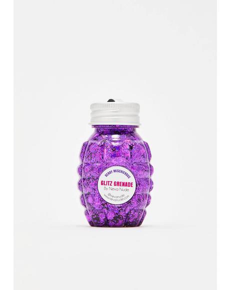 Berry Mischievous Glitz Grenade Glitter