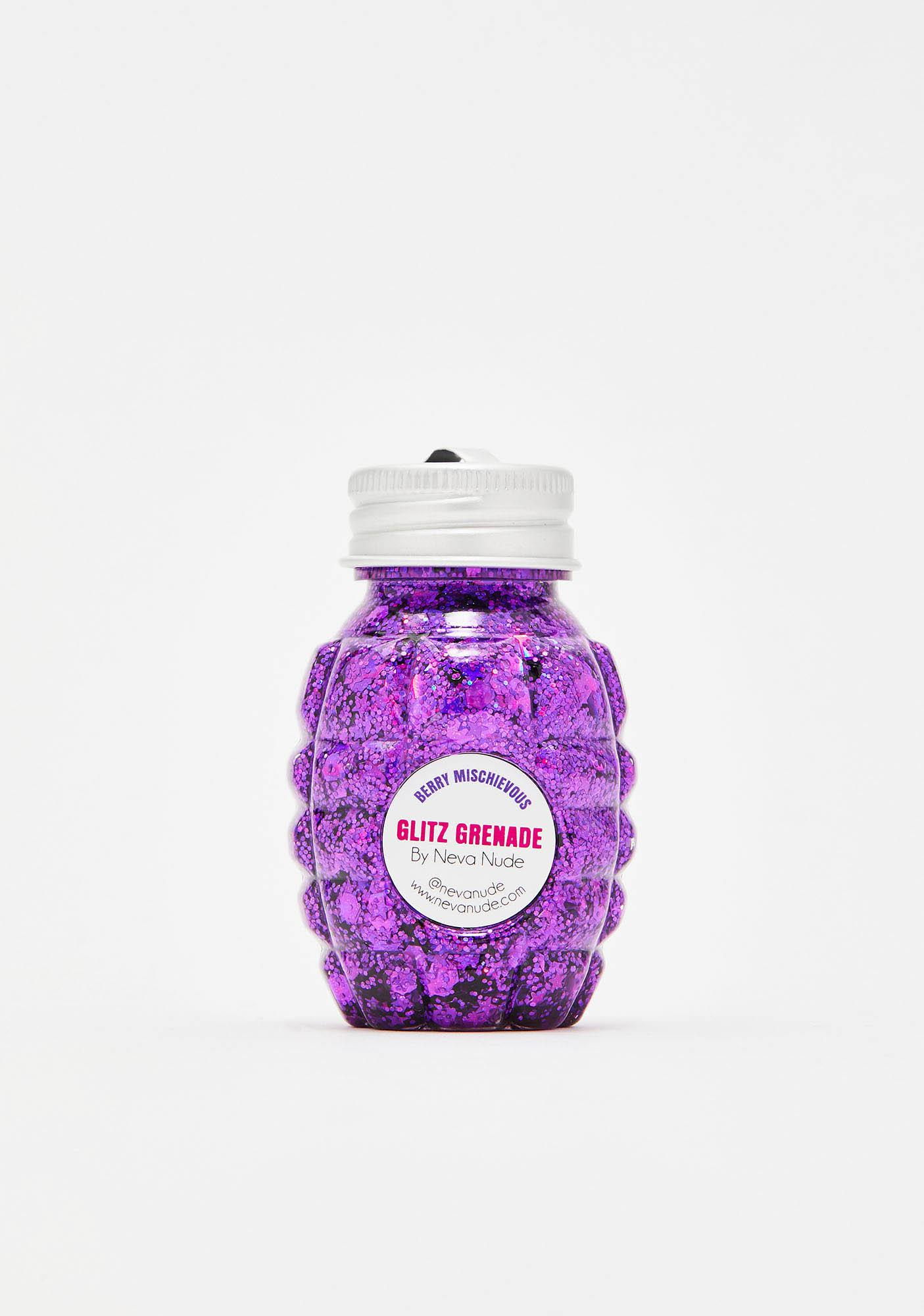 Neva Nude Berry Mischievous Glitz Grenade Glitter