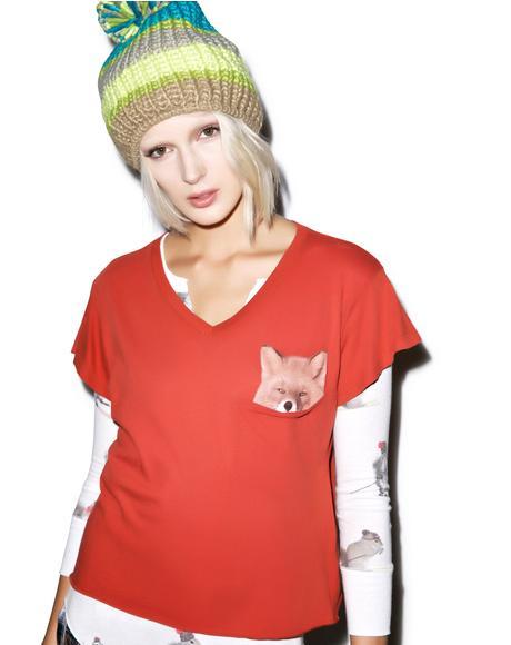 Pocket Fox Romeo Tee