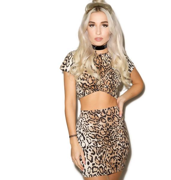 Motel Call Of The Wild Kimmy Skirt