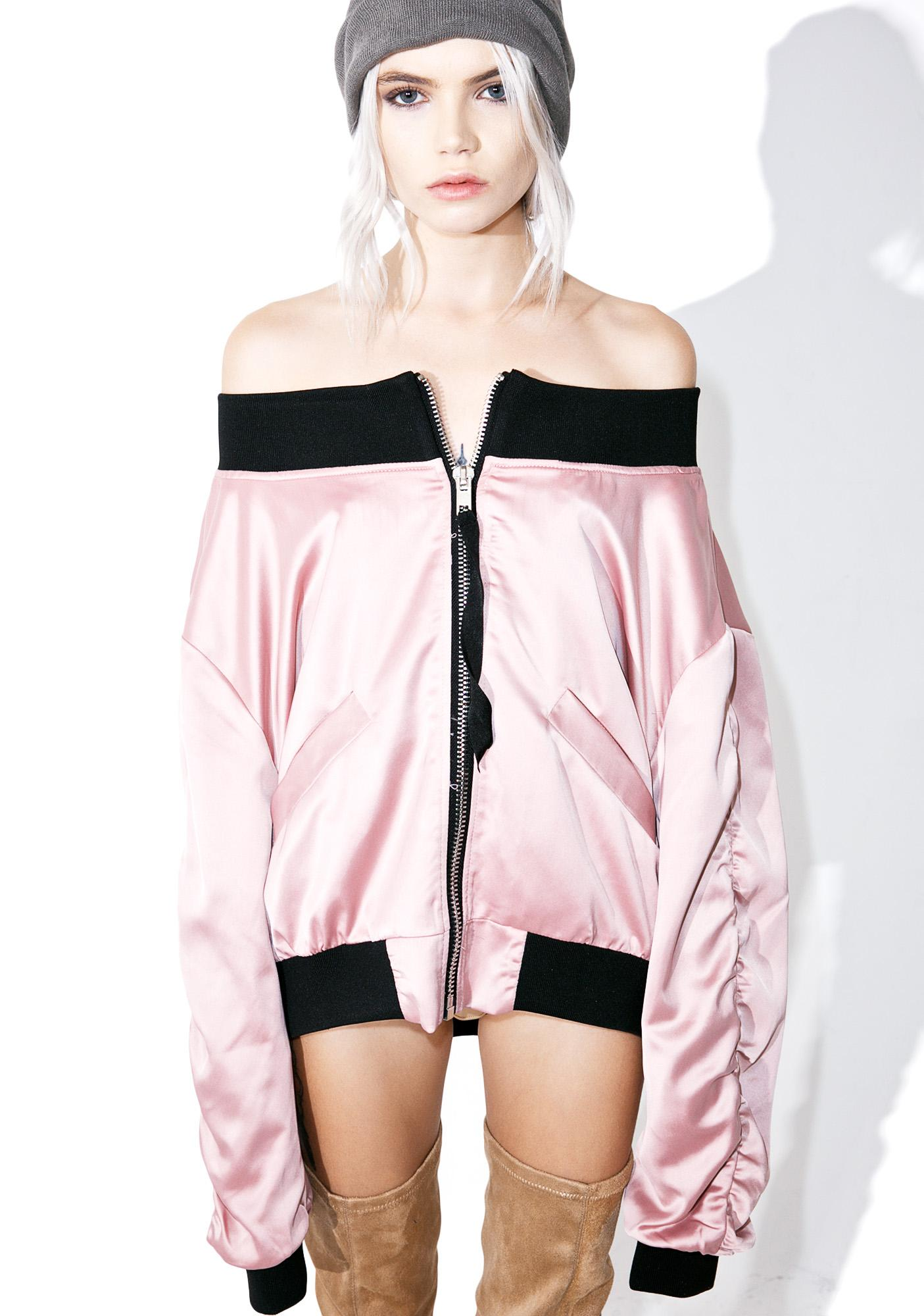 Hold Me Off-Shoulder Jacket