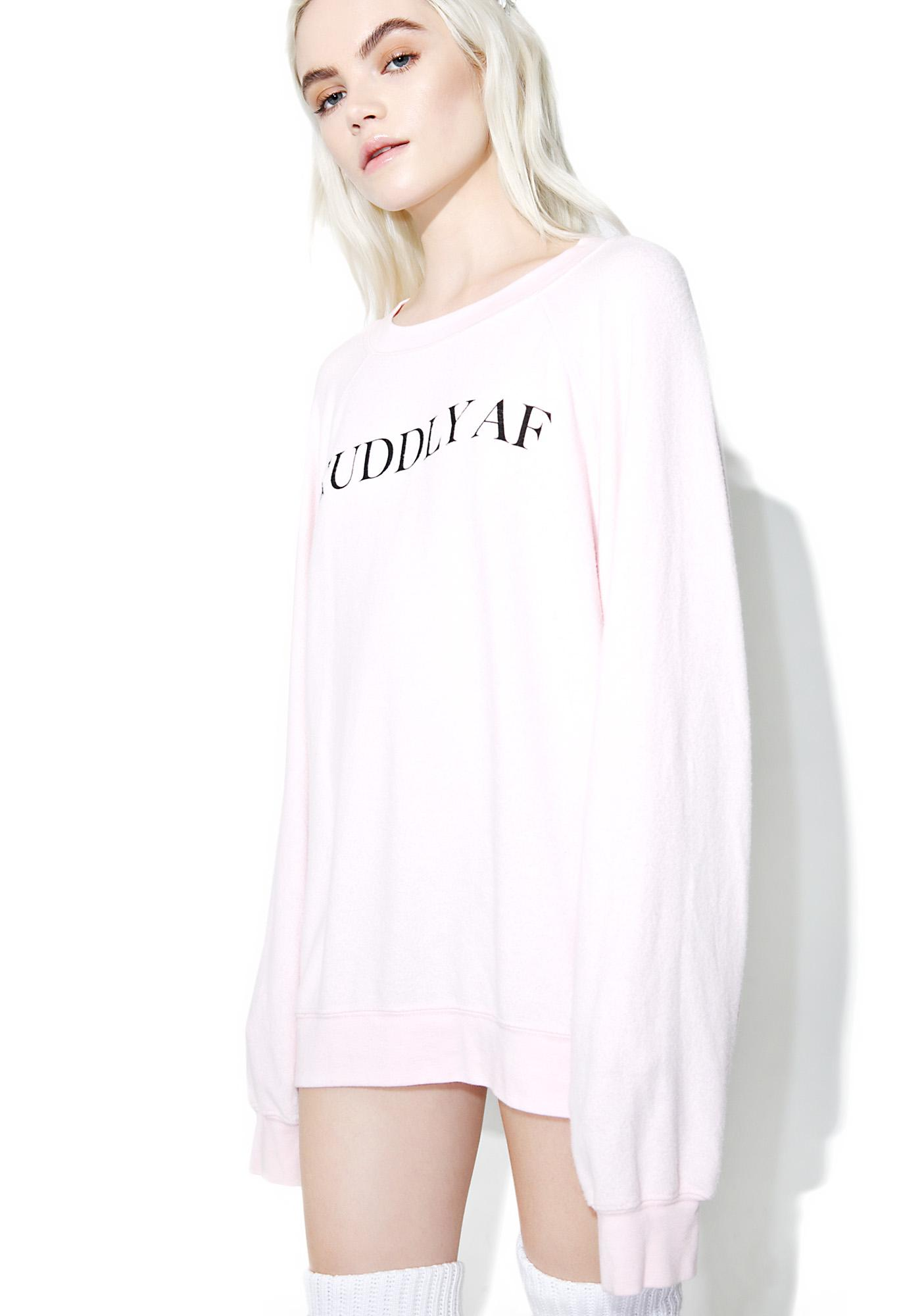Wildfox Couture Cuddly AF Sommer's Sweater