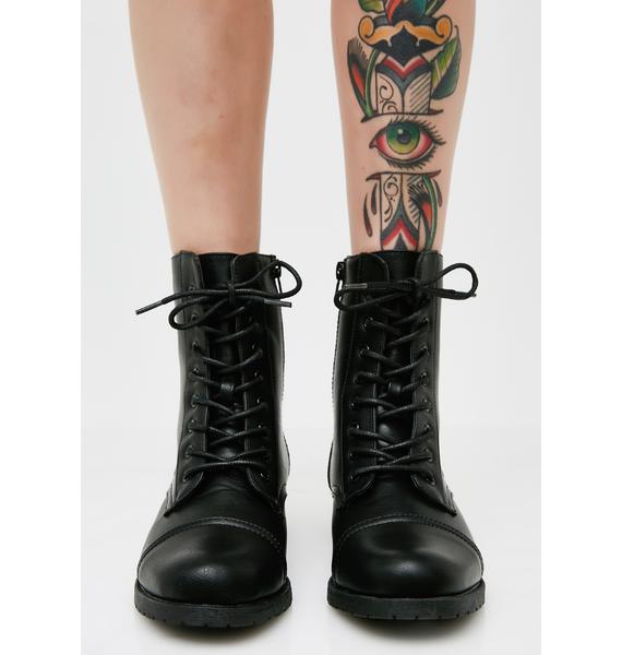 Onyx Stomp Combat Boots