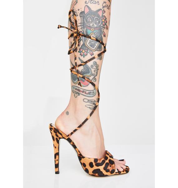 Public Desire Pretty Kitty Patent Heels