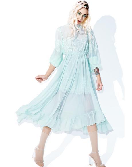 Comin' Full Circle Slip Dress