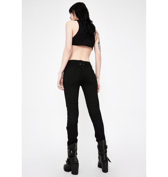 Killstar Forsaken Skinny Jeans