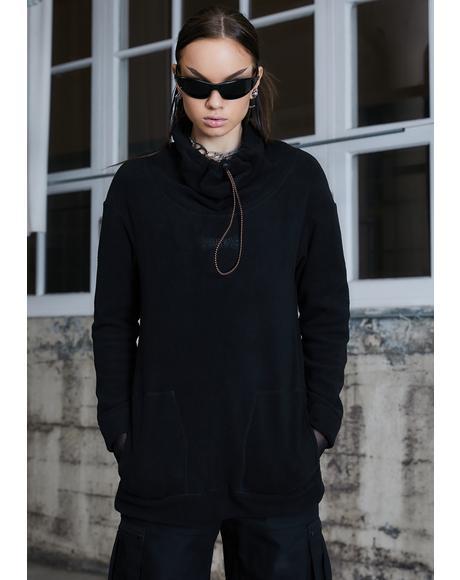 Kickdrum Fleece Long Sleeve Top