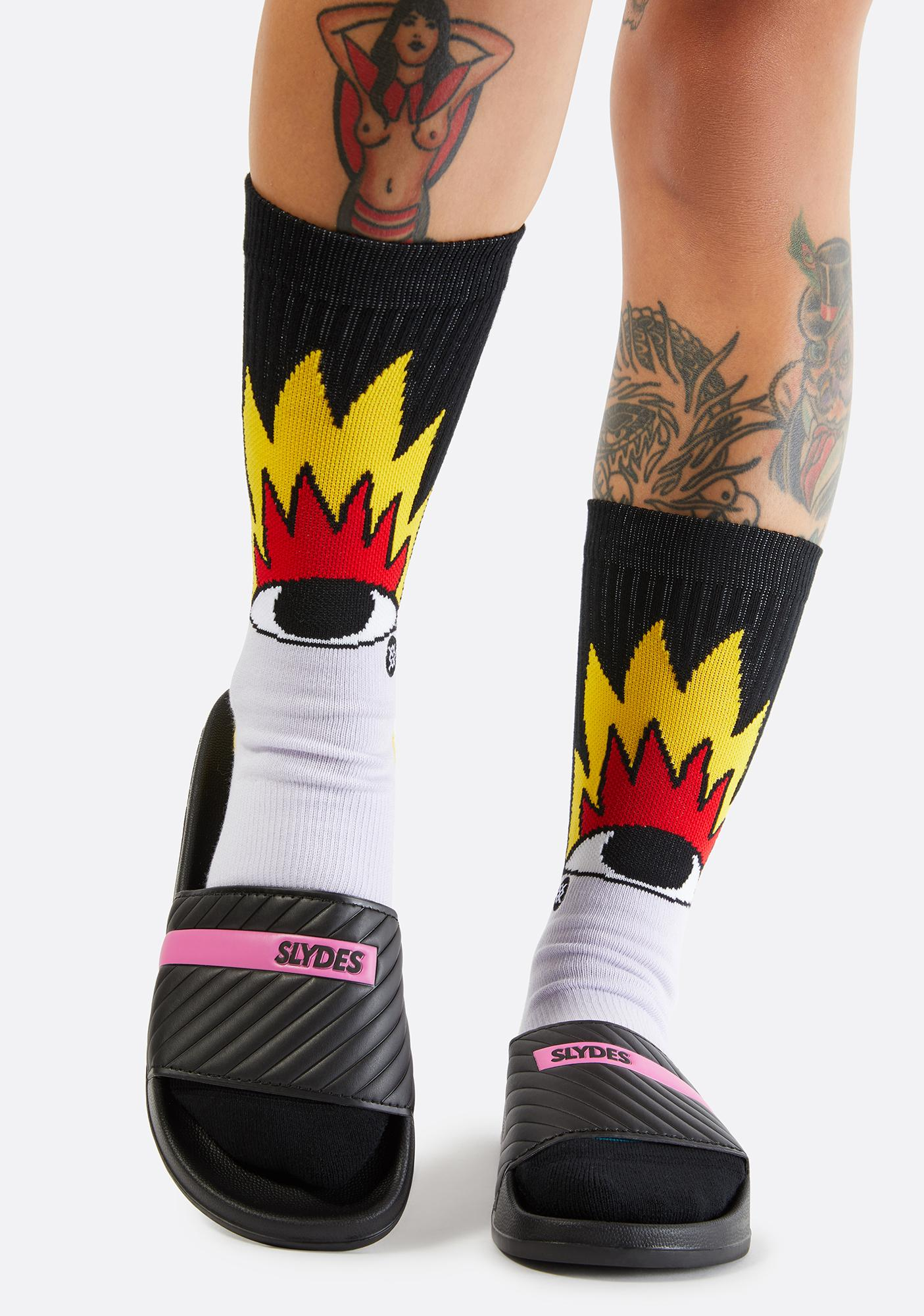 SLYDES Varsity Slide Sandals