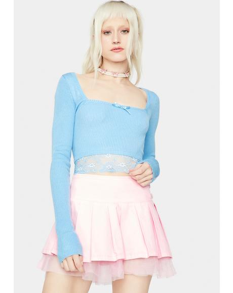 Keep Coming Back Knit Crop Top