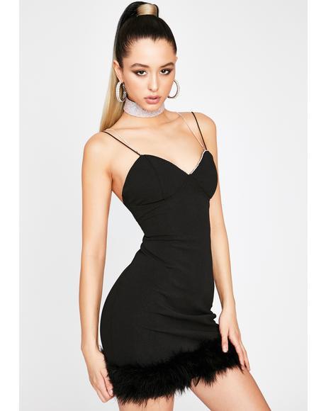 Frisky Tricks Mini Dress