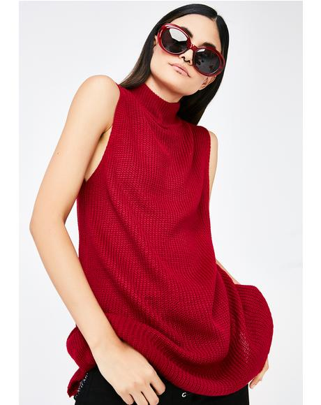 Holly Daze Turtleneck Sweater