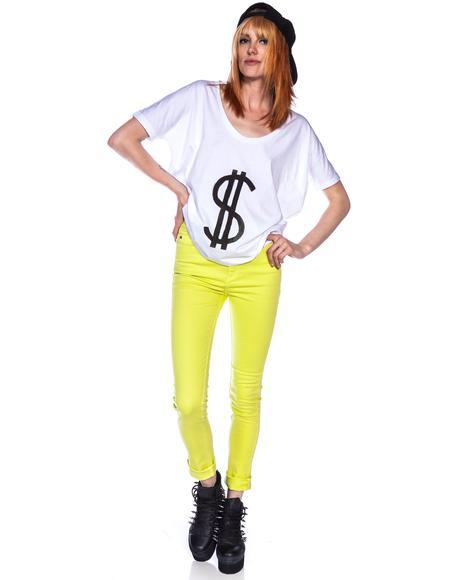High N Mighty Overdye Skinny Jeans