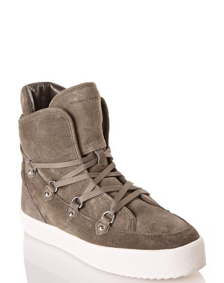 Olive Darby High Top Sneakers