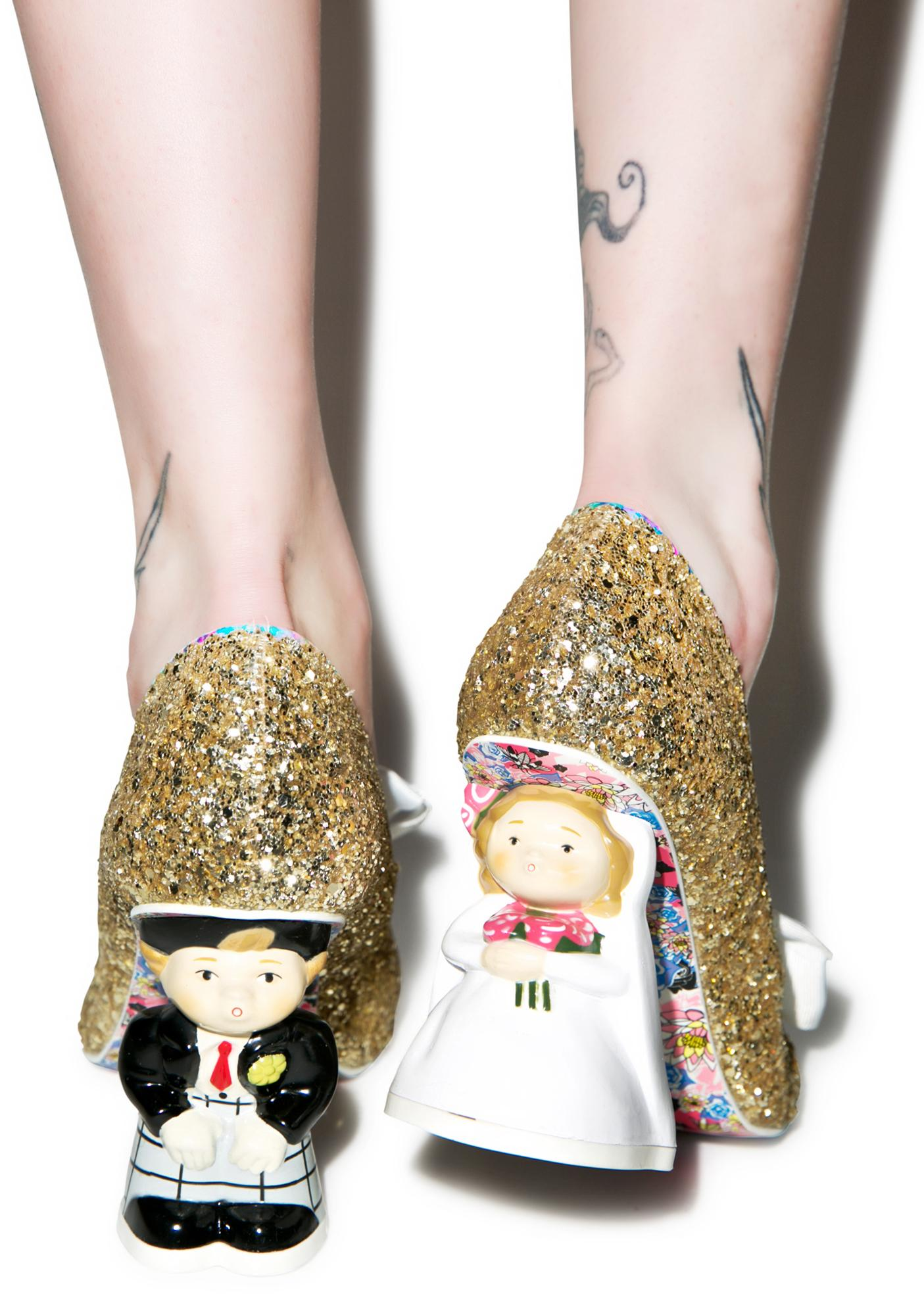 Irregular Choice Mr. & Mrs. Heels