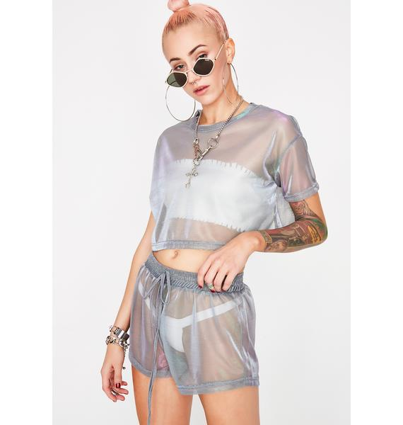 Crystal Ball Sheer Set