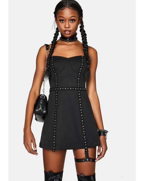 Sexy Punk Street Slip Dress
