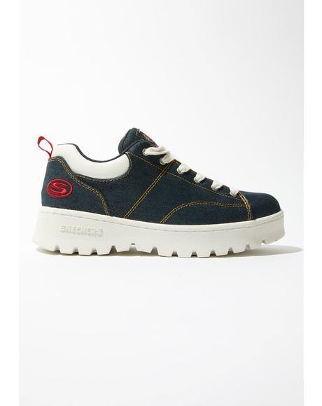 Urban Denim Cleats Sneakers