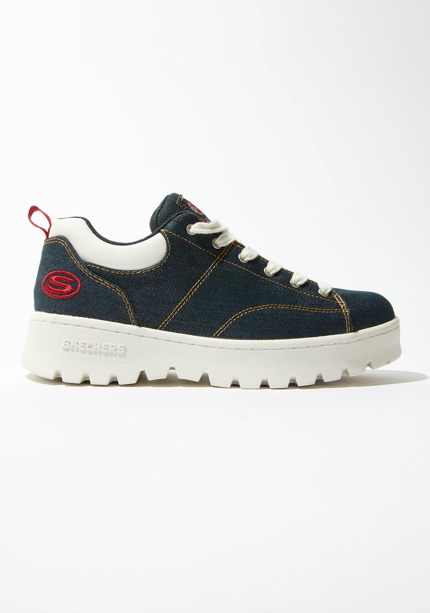 Skechers Urban Denim Cleats Sneakers