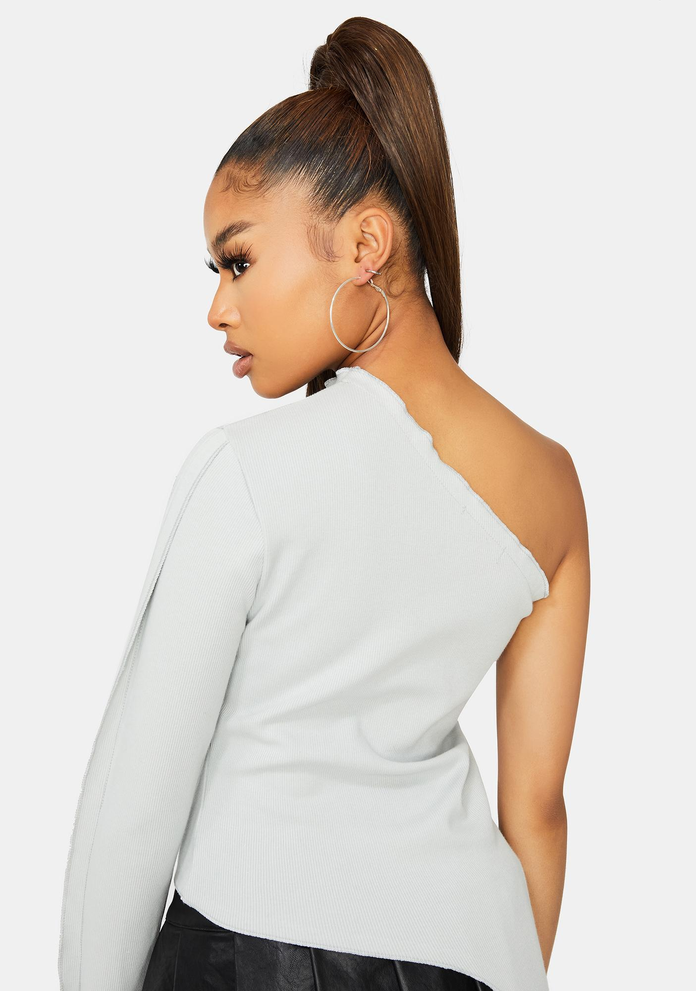 Modern Mystery One Shoulder Top
