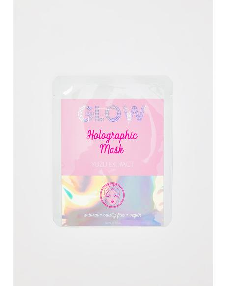 Holographic Face Mask