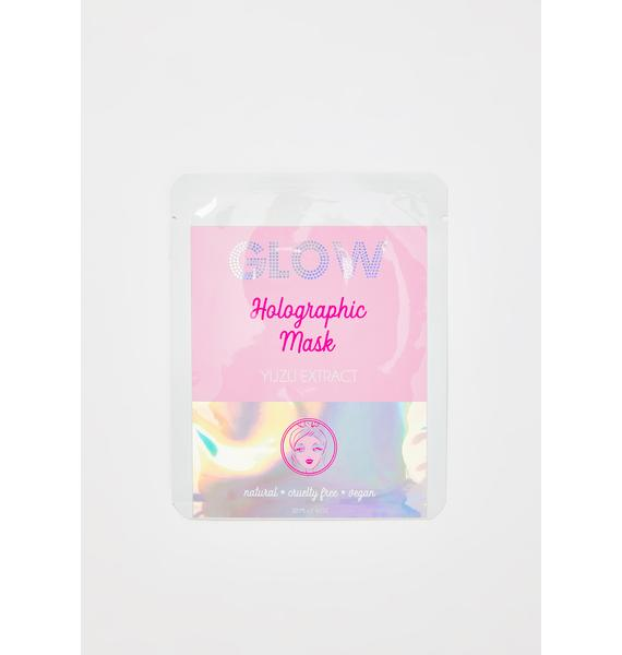 GLOW Holographic Face Mask