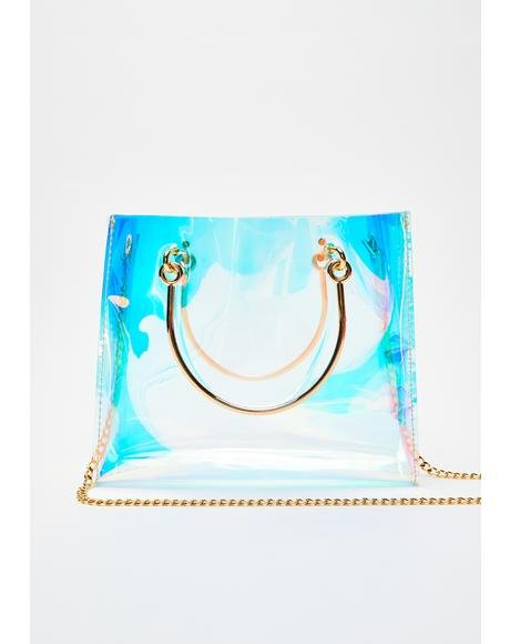 Iconic Empress Iridescent Handbag