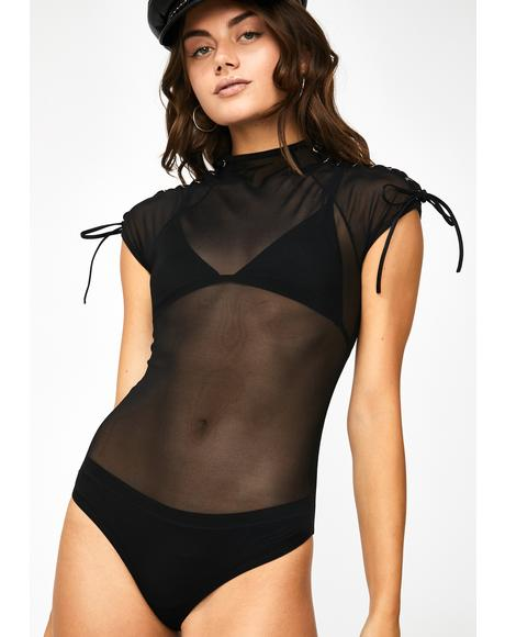 Shadow Kween Sheer Bodysuit