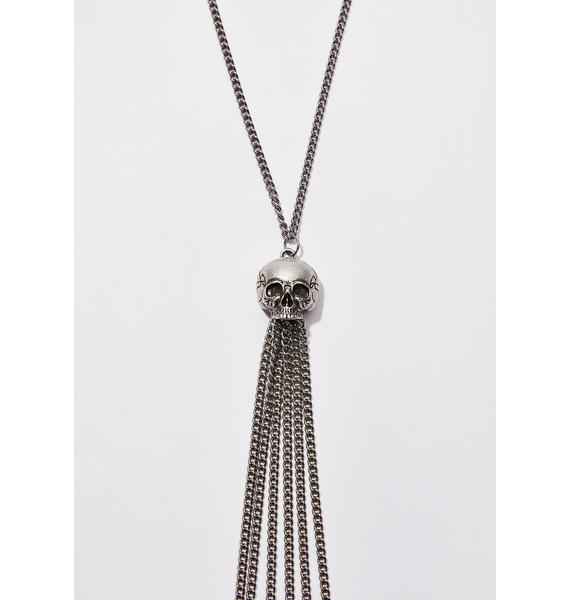 Disturbia Skull Body Chain