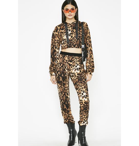 Fierce Runner Leopard Set