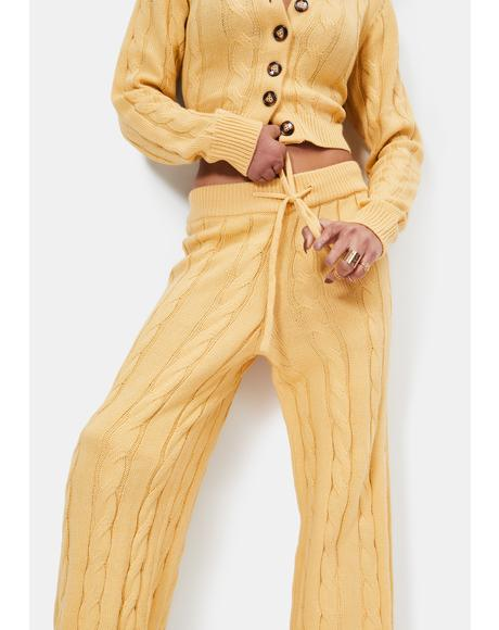 Mellow Yellow Lounge Pants