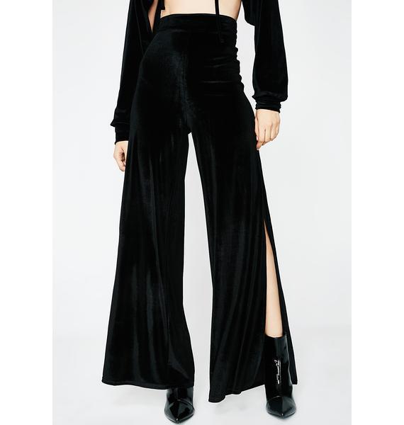 Make Em' Beg Velvet Pants