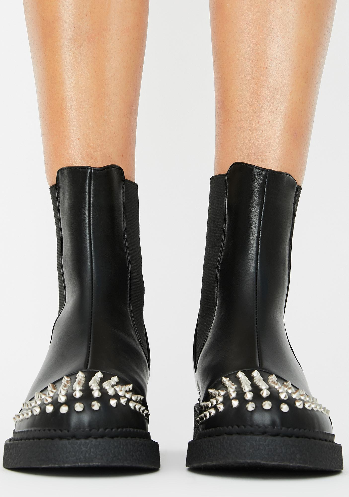 Lamoda Starry Skies Ankle Boots