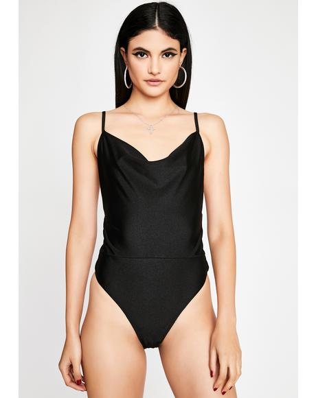 Night Crush Love Lurex Bodysuit