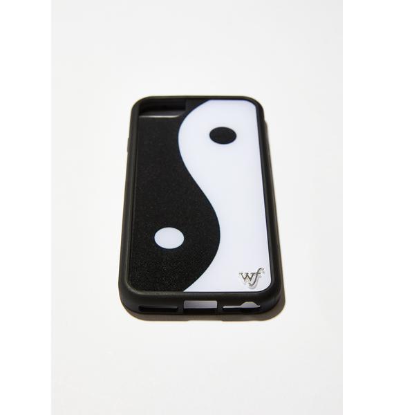 Wildflower Yin Yang iPhone Case