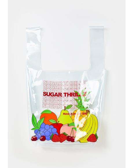 Sugar Spree Clear Tote