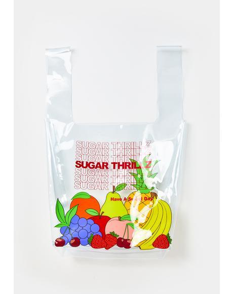 Sugar Spree Clear Tote