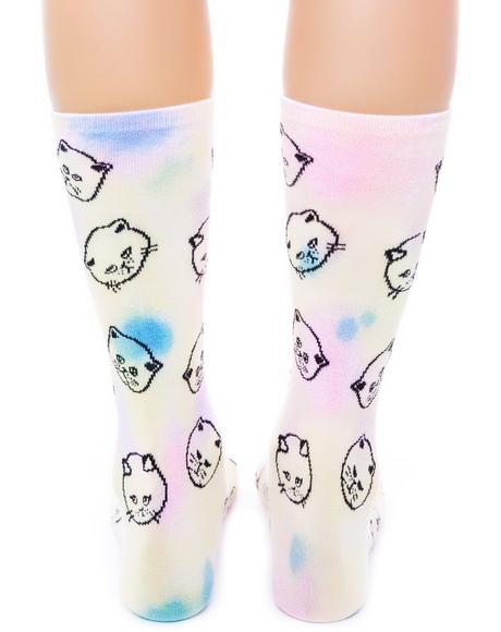 Cat Dye Socks