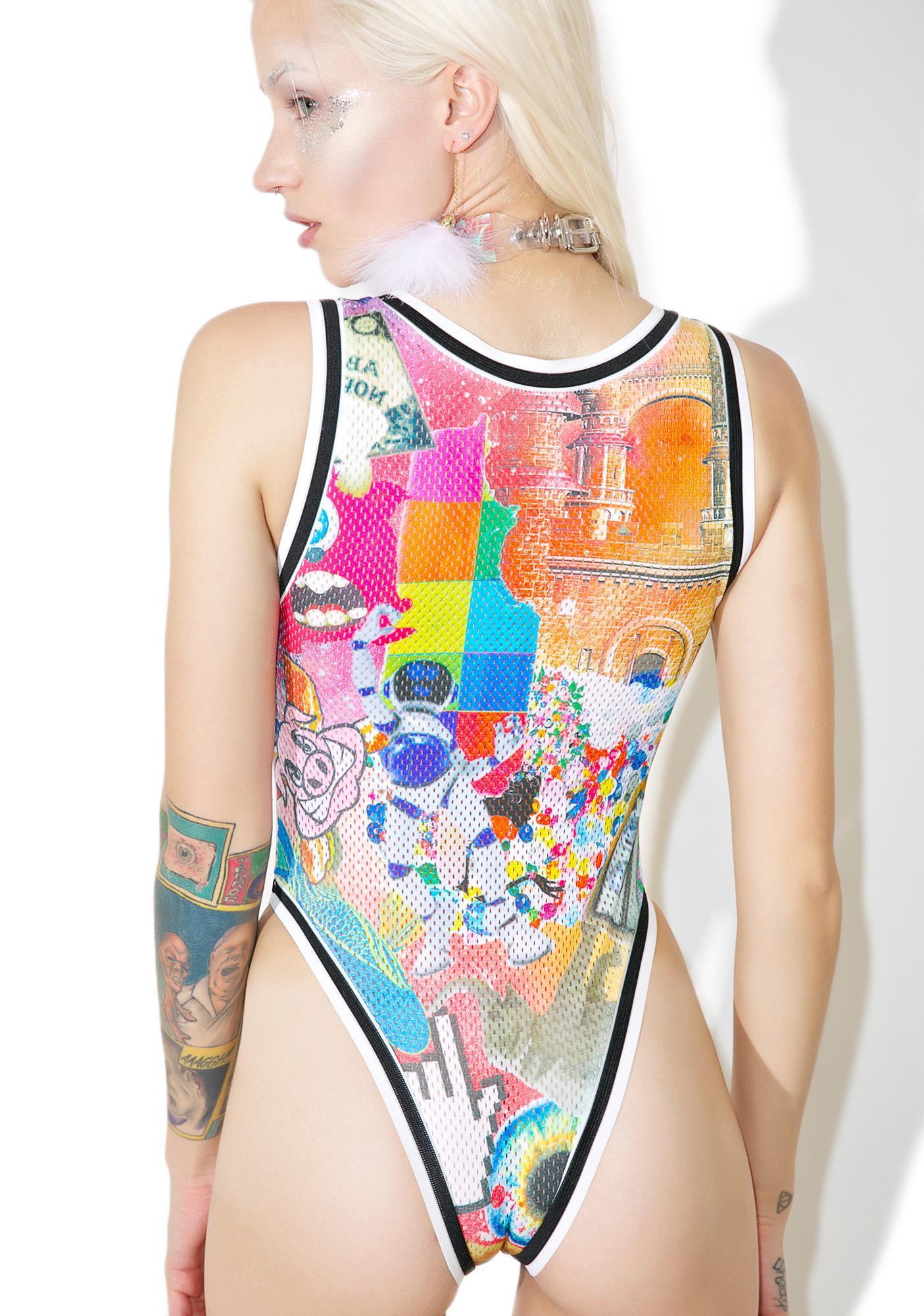 Who Cares NYC? Da High Lyfe Graphic Bodysuit