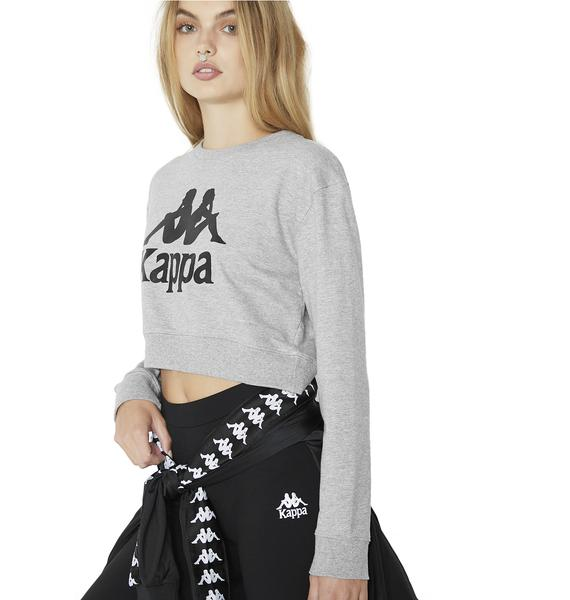 Kappa Kappa Cropped Sweatshirt