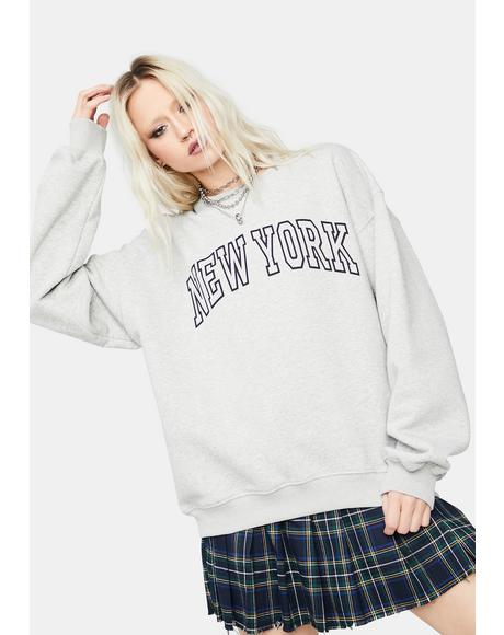 Storm Big Apple New York Pullover