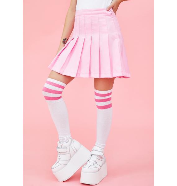 Sugar Thrillz Whimsical Wonder Pleated Skirt