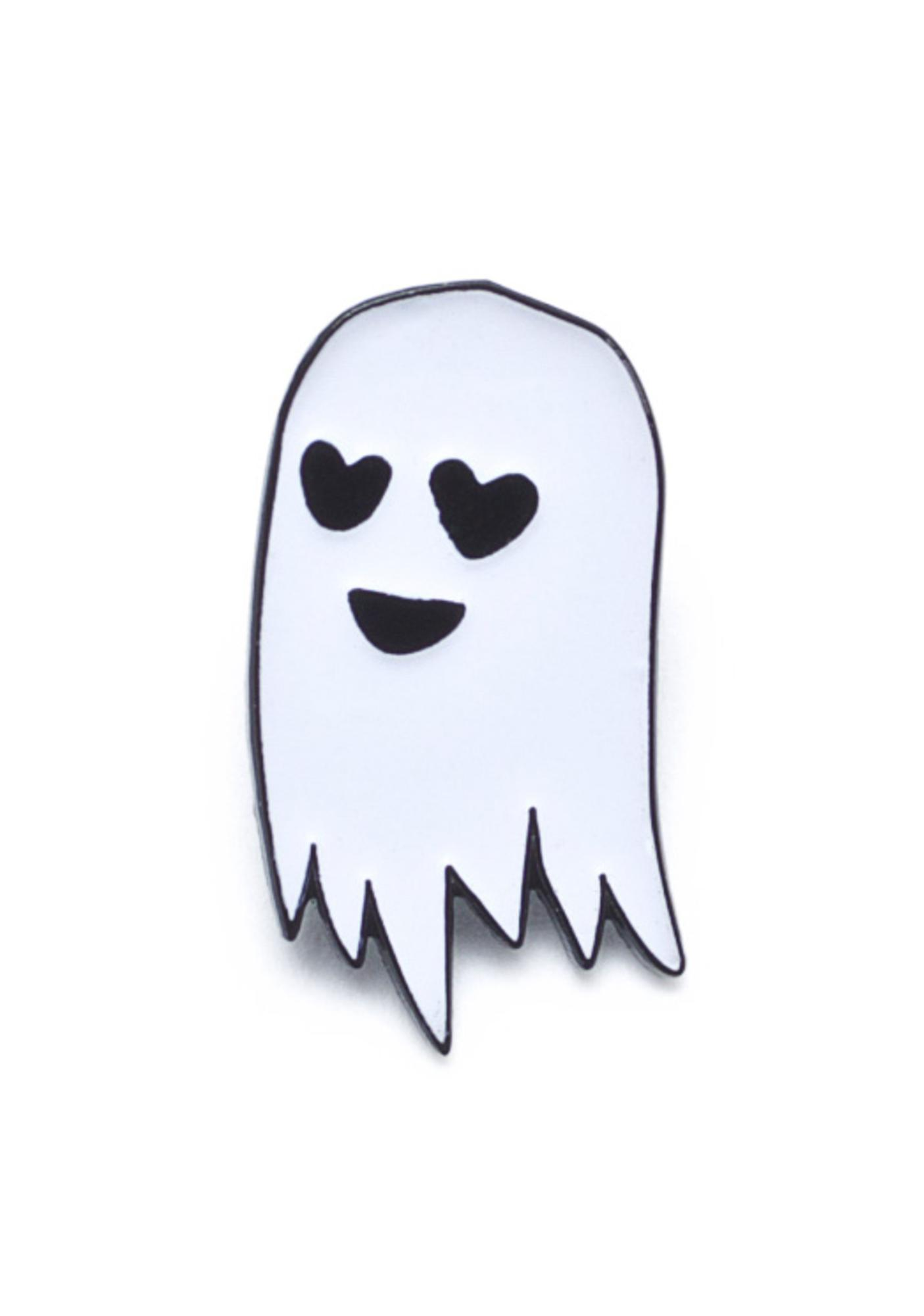 Sara M Lyons My Ghost Boyfriend Enamel Pin