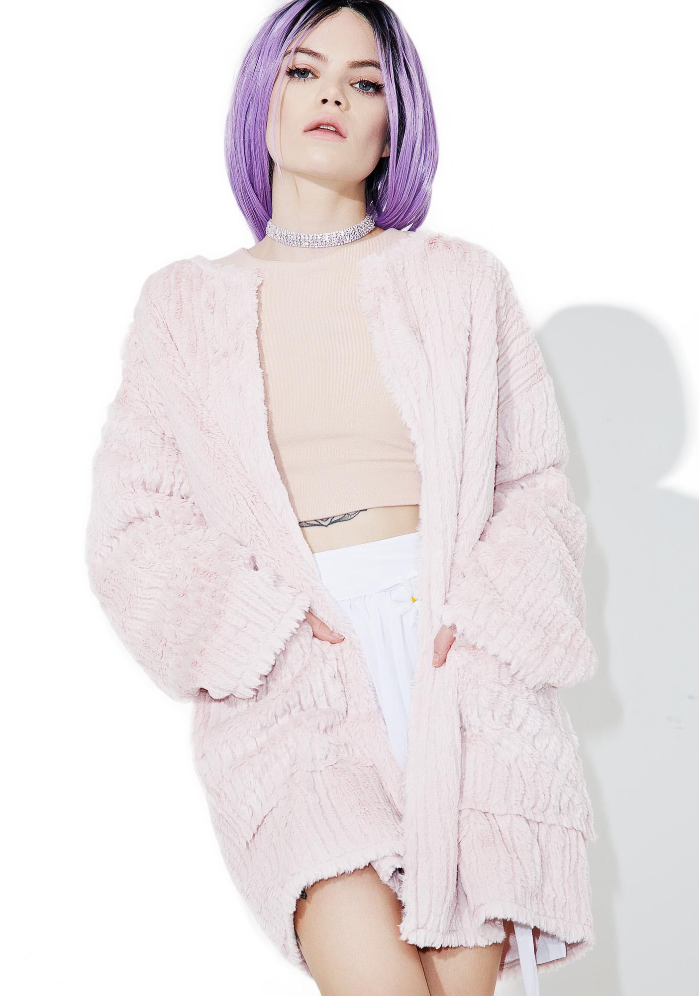 Babydoll Faux Fur Jacket