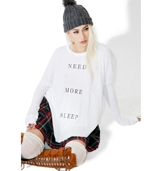 Wildfox Couture More Sleep Perry Thermal