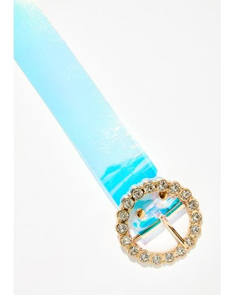 Milky Way Jeweled Buckle Belt
