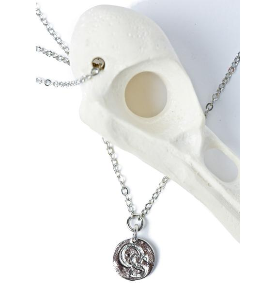 OS Accessories Crowskull Necklace