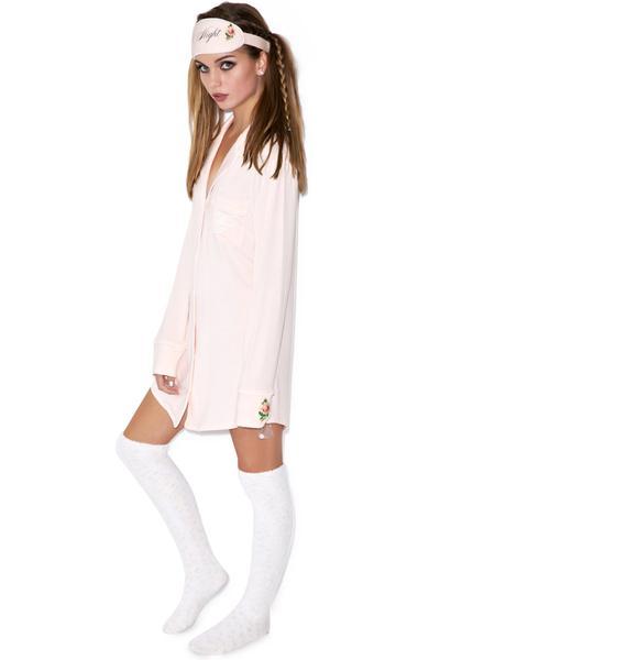 Wildfox Couture Goodnight Sleep Shirt